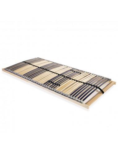 Grotelės lovai su 42 lentjuostėmis, 7 zonos, 120x200cm | Lovos ir Lovų Rėmai | duodu.lt