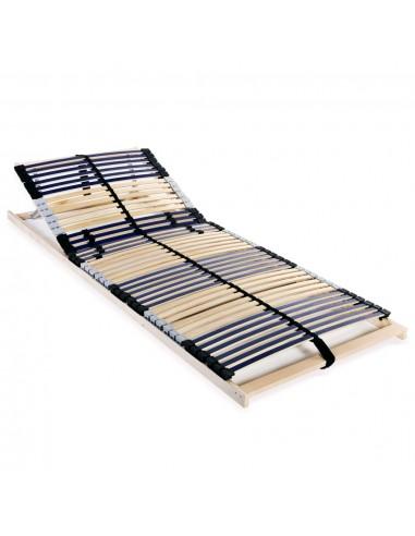Grotelės lovai su 42 lentjuostėmis, 7 zonos, 80x200cm   Lovos ir Lovų Rėmai   duodu.lt