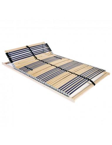 Grotelės lovai su 42 lentjuostėmis, 7 zonos, 140x200cm | Lovos ir Lovų Rėmai | duodu.lt
