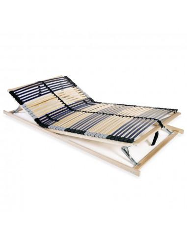 Grotelės lovai su 42 lentjuostėmis, 7 zonos, 120x200cm   Lovos ir Lovų Rėmai   duodu.lt