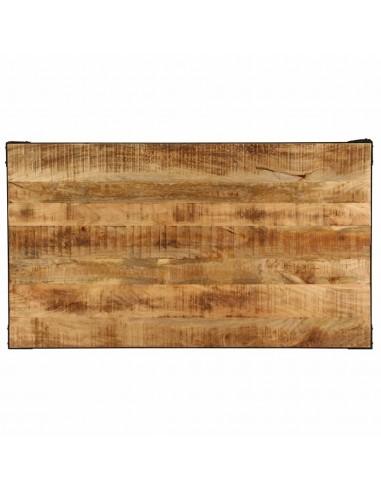 Saulės gultas su čiužiniu, poliratanas, 200x140x28 cm, rudas  | Šezlongai | duodu.lt