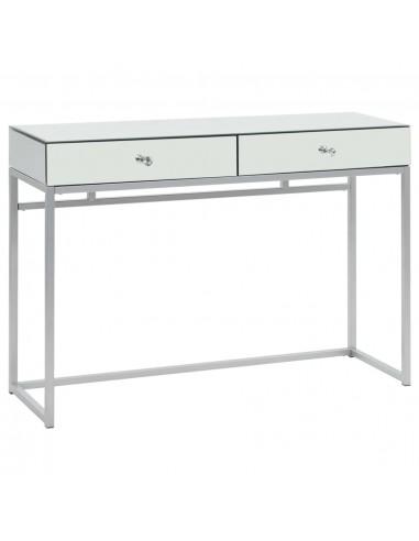 Veidrodinis konsolinis staliukas, plien. ir stik., 107x33x77cm | Žurnaliniai Staliukai | duodu.lt