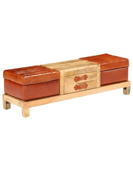 Lauko baldų komplektas, 15 dalių, poliratanas, rudas  | Lauko Baldų Komplektai | duodu.lt