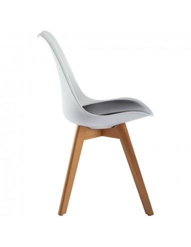 Sodo kėdės, plienas, balta spalva  | Lauko Suolai | duodu.lt