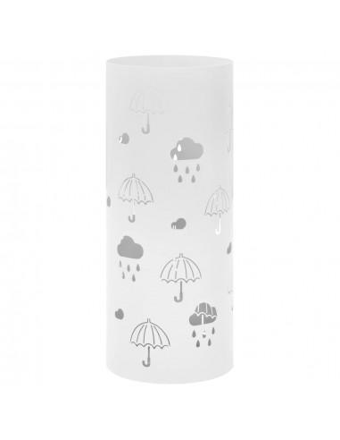 Stovas skėčiams, skėčių pav., plieninis, baltas    Lietsargių stovai ir pakabos   duodu.lt