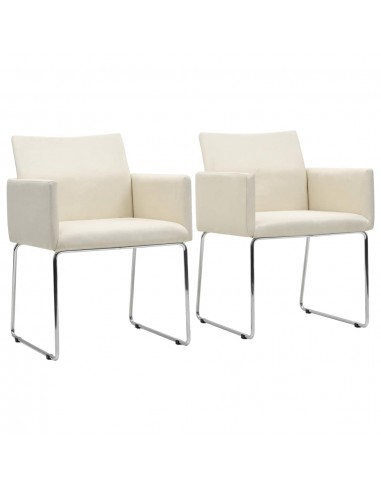 Valgomojo kėdės, 2 vnt., lino išvaizdos, baltos   Virtuvės ir Valgomojo Kėdės   duodu.lt