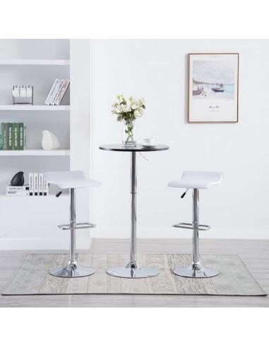 Baro taburetės, 2vnt., dirbtinė oda, baltos   Stalai ir Baro Kėdės   duodu.lt