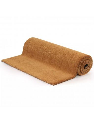 Durų kilimėlis, kokoso pluoštas, 17mm, 100x100cm, natūrali sp.   Durų Kilimėlis   duodu.lt