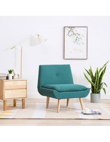Fotelis, audinio apmušalas, 73x66x77cm, žalias   Foteliai be porankių   duodu.lt