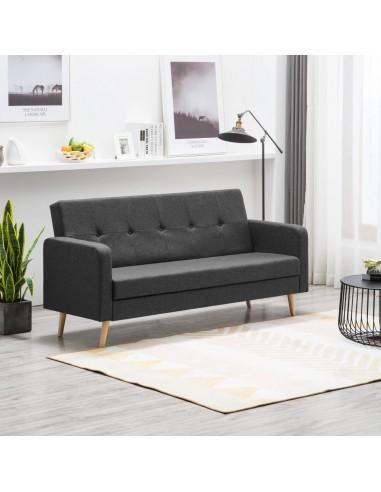 Sofa, audinys, tamsiai pilka   Sofos   duodu.lt