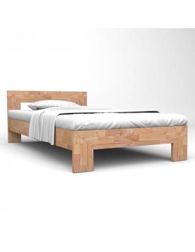 Lovos rėmas, 160x200cm, ąžuolo medienos masyvas   Lovos ir Lovų Rėmai   duodu.lt