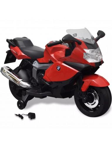 BMW 283 Elektrinis Motociklas Vaikams, Raudonas, 6 V | Elektrinės Transporto Priemonės | duodu.lt