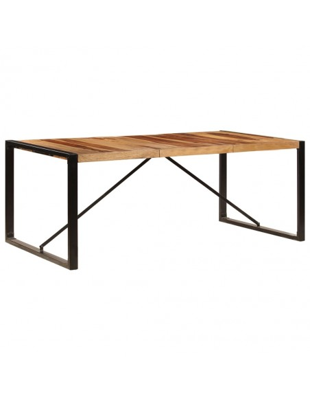 Saulės gultas, tvirta akacijos mediena, 190x60x51cm, rudas   Šezlongai   duodu.lt