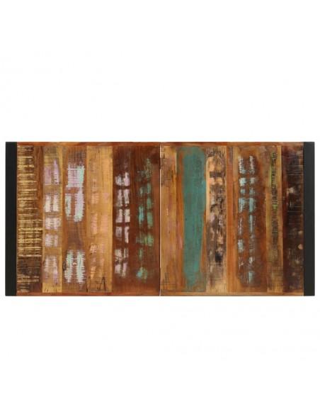 Trivietė sofa, polir., 180x70x66cm, juodos ir tams. pilk. sp. | Lauko Sofos | duodu.lt
