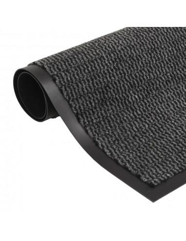 Durų kilimėlis, kvadratinis, dygsniuotas, 60x90cm, antracito | Durų Kilimėlis | duodu.lt