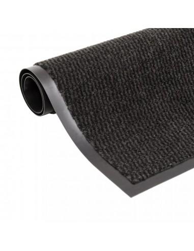 Durų kilimėlis, kvadratinis, dygsniuotas, 60x90cm, juodas | Durų Kilimėlis | duodu.lt