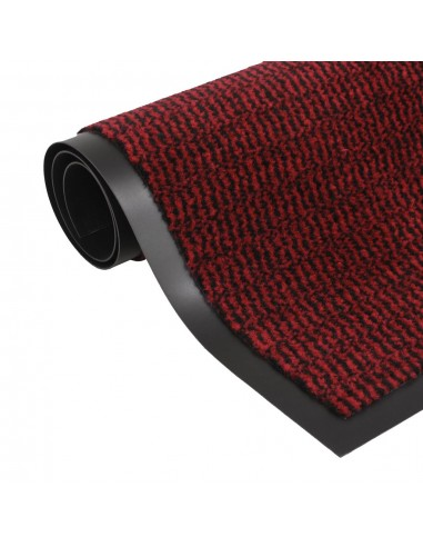 Durų kilimėlis, kvadratinis, dygsniuotas, 60x90 cm, raudonas | Durų Kilimėlis | duodu.lt