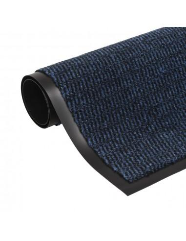 Durų kilimėlis, kvadratinis, dygsniuotas, 60x90cm, mėlynas   Durų Kilimėlis   duodu.lt