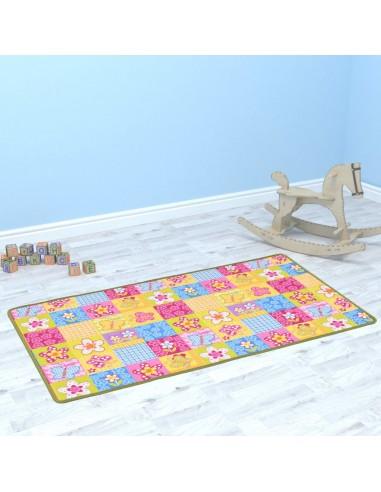 Žaidimų kilimėlis, kilp. pūkas, 67x120cm, drugelių raštas   Žaidimo ir pratimų kilimėliai   duodu.lt