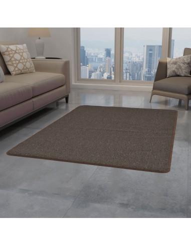 Dygsniuotas kilimėlis, 80x150cm, rudas    Kilimėliai   duodu.lt