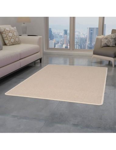 Dygsniuotas kilimėlis, 160x230cm, smėlio spalvos  | Kilimėliai | duodu.lt
