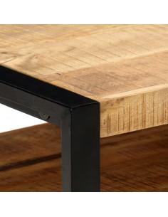 Kavos staliukas, labai blizgus grūdintas stiklas, juodas | Kavos Staliukai | duodu.lt