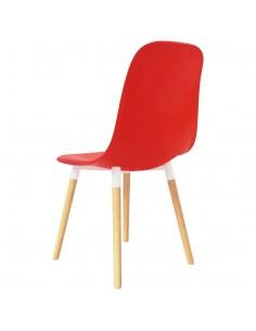 Elektrinis paspirtukas su sėdyne, 120 W, raudonas    Paspirtukai   duodu.lt