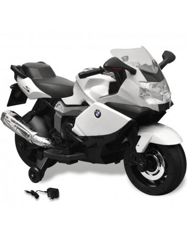 BMW 283 Elektrinis Motociklas Vaikams, Baltas, 6 V   Elektrinės Transporto Priemonės   duodu.lt