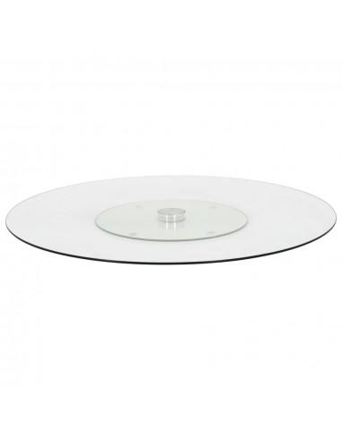 Pasukamas serviravimo padėklas, besp., 60cm, grūdintas stiklas   Serviravimo lėkštės   duodu.lt