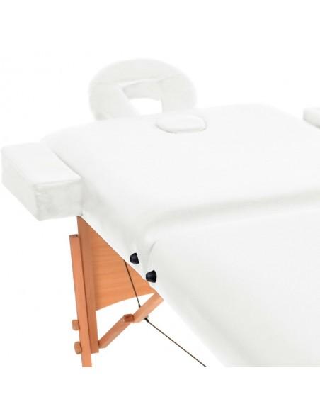 Sulankstomas Masažo Stalas su Aliuminio Rėmu, 2 zonų, Mėlynas | Masažiniai Stalai | duodu.lt