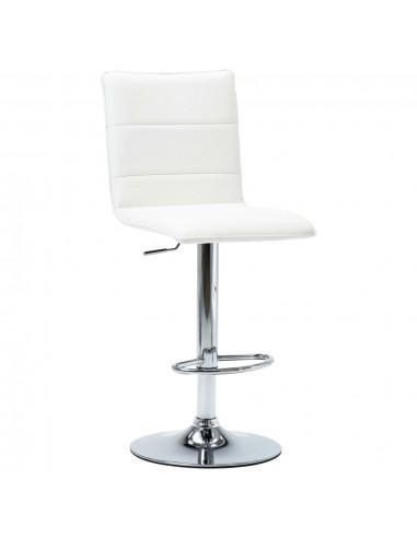 Baro kėdė, baltos spalvos, dirbtinė oda   Stalai ir Baro Kėdės   duodu.lt