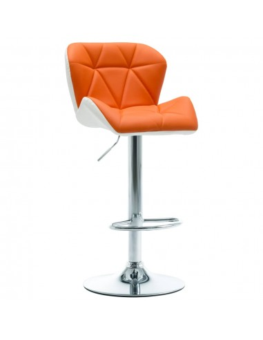Baro taburetė, oranžinės spalvos, dirbtinė oda   Stalai ir Baro Kėdės   duodu.lt
