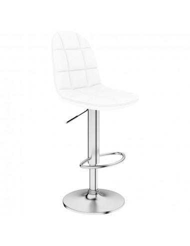 Baro taburetė, baltos spalvos, dirbtinė oda    Stalai ir Baro Kėdės   duodu.lt