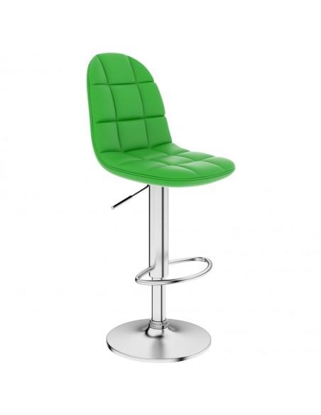 Atlošiama biuro/žaidimų kėdė, dirbtinė oda, žalia | Ofiso Kėdės | duodu.lt