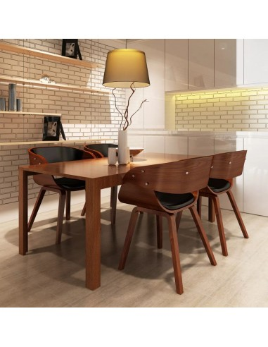 Valgomojo kėdės, 4 vnt., medinės, rudos  | Virtuvės ir Valgomojo Kėdės | duodu.lt