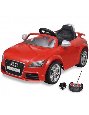 Audi TT RS Vaikiškas Automobilis su Nuotoliniu Valdymu, Raudonas | Elektrinės Transporto Priemonės | duodu.lt