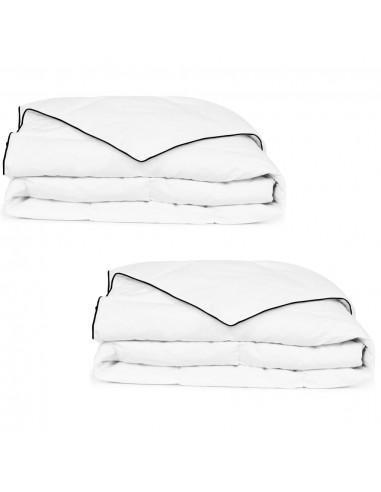 Pūkinė antklodė, žieminė, 2vnt.,140x200cm, balta   Dygsniuotos ir pūkinės antklodės   duodu.lt