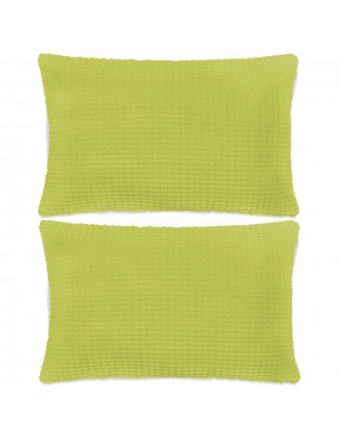 Pagalvėlių rinkinys, 2vnt., veliūras, 40x60cm, žalia spalva | Dekoratyvinės pagalvėlės | duodu.lt