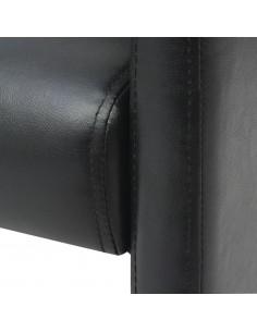 Dvigulė lova su čiužiniu Memory, juoda, 180x200 cm    Lovos ir Lovų Rėmai   duodu.lt