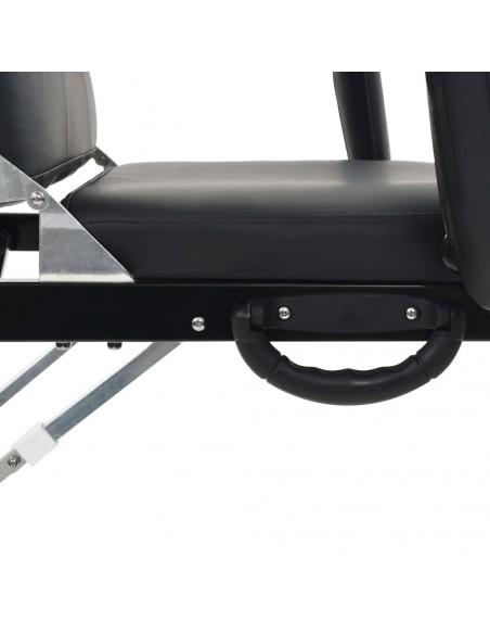 Sulankstomas Masažo Stalas su Aliuminio Rėmu, 4 zonų, Mėlynas | Masažiniai Stalai | duodu.lt