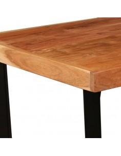 Šoninis staliukas, apvalus, perdirbto tikmedžio masyvas   Žurnaliniai Staliukai   duodu.lt