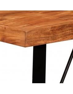 Konsolinis stal., perdirbt. tikmedžio med. masyvas, 90x30x76cm | Žurnaliniai Staliukai | duodu.lt