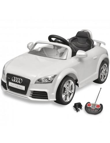 Audi TT RS Vaikiškas Automobilis su Nuotoliniu Valdymu, Baltas | Elektrinės Transporto Priemonės | duodu.lt