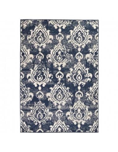 Modernus kilimas, Paisley raštas, 160x230cm, smėlio/mėlynas   Kilimėliai   duodu.lt