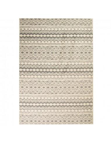 Modernus kilimas, tradic. raštas, 120x170cm, smėlio/pilkas  | Kilimėliai | duodu.lt