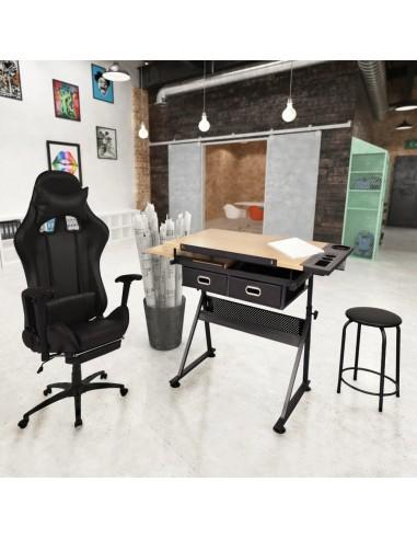 Pakr. stalvirš. pieš. stal. su biuro kėdė su rat.    Darbiniai stalai   duodu.lt