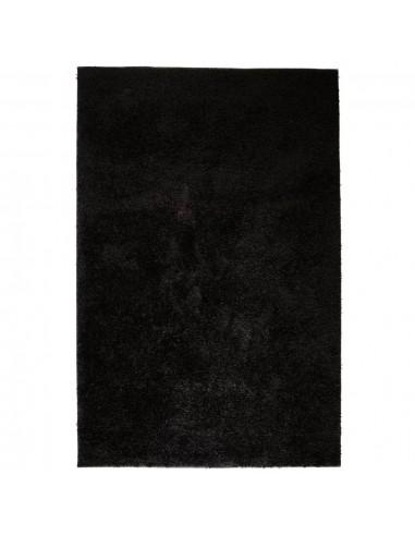 Shaggy tipo kilimėlis, 80x150 cm, juodas    Kilimėliai   duodu.lt