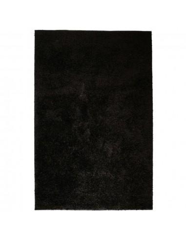 Shaggy tipo kilimėlis, 140x200 cm, juodas  | Kilimėliai | duodu.lt
