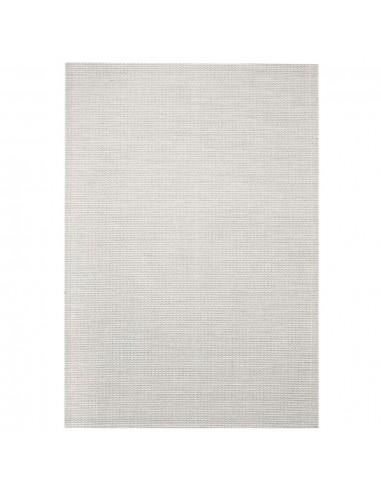 Sizalio išvaizdos vidaus/lauko kilimas, 120x170cm, pilkas  | Kilimėliai | duodu.lt