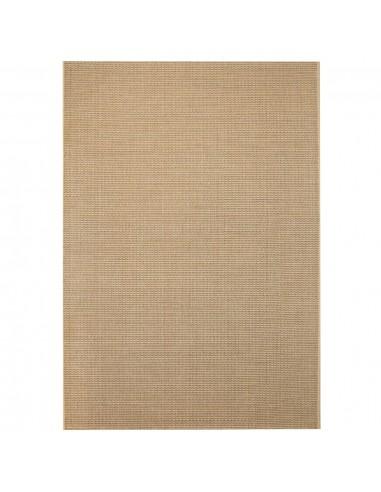 Sizalio išvaizdos vidaus/lauko kilimas, 160x230cm, smėlio sp.    Kilimėliai   duodu.lt